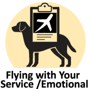 Flying with Service Animal Emotional Support Animal Therapy Dog Airline Policy Pet